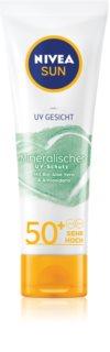 Nivea Sun Mineral creme solar facial SPF 50+