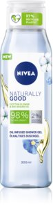 Nivea Naturally Good gel de duche suave