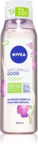 Nivea Naturally Good gel de ducha con aceite de argán