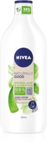Nivea Naturally Good lait corporel hydratant à l'aloe vera