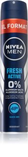 Nivea Men Fresh Active déodorant en spray sans aluminium