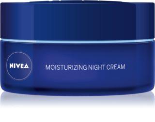 Nivea Aqua Effect регенериращ нощен крем за нормална към смесена кожа