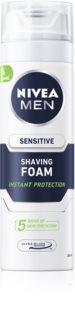Nivea Men Sensitive пена для бритья