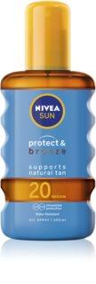 Nivea Sun Protect&Bronze huile sèche solaire SPF 20