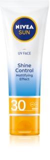 Nivea Sun матиращ слънцезащитен крем за лице SPF 30