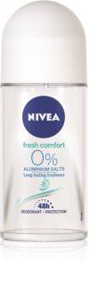 Nivea Fresh Comfort deodorante roll-on senza sali di alluminio 48 ore