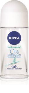 Nivea Fresh Comfort dezodorant roll-on brez aluminijevih soli 48 ur