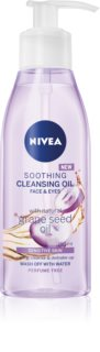 Nivea Cleansing Oil Soothing Grape Seed aceite limpiador calmante  para pieles sensibles
