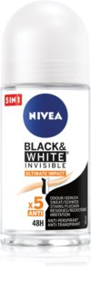 Nivea Invisible Black & White Ultimate Impact roll-on antiperspirant 48h