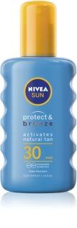 Nivea Sun Protect & Bronze intensives Bräunungsspray SPF 30