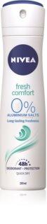 Nivea Fresh Comfort Deodorant Spray 48h