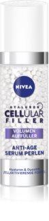 Nivea Cellular Anti-Age Intensief Vullend en Anti-Rimpel Serum met Hyaluronzoor voor Gezicht, Hals en Decolleté