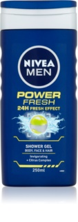Nivea Power Refresh gel de douche