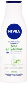 Nivea Aloe Hydration Lichte Body Milk  met Aloe Vera