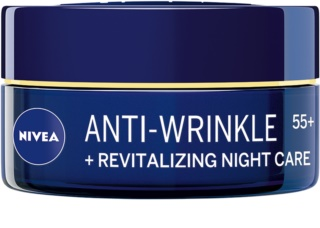 Nivea Anti-Wrinkle Revitalizing Anti-aldring natcreme med anti-rynkeeffekt