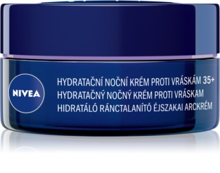 Nivea Anti-Wrinkle Moisture хидратиращ нощен крем против бръчки 35+