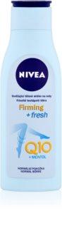 Nivea Q10 Plus erfrischende Bodymilch für Füssen