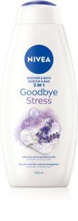 Nivea Goodbye Stress bagno e docciaschiuma 2 in 1 maxi