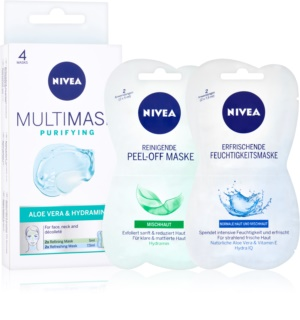 Nivea Multi-Mask Cleansing Face Mask With Aloe Vera