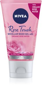Nivea MicellAir  Rose Water gel limpiador micelar