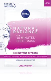 Nivea Urban Skin masca iluminatoare