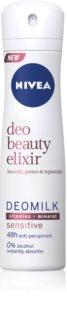 Nivea Deo Beauty Elixir Sensitive spray anti-transpirant