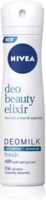 Nivea Deo Beauty Elixir Fresh antitranspirante en spray 48h