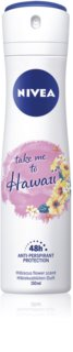 Nivea Take me to Hawaii Antiperspirant Spray 48h