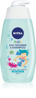 Nivea Kids Magic Apple champú y gel de ducha para niños