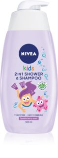 Nivea Kids Sparkle Berry Shower Gel And Shampoo 2 In 1 for Kids