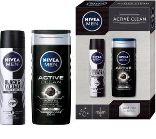 Nivea Men Active Clean confezione regalo X. (per uomo)