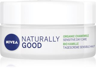 Nivea Naturally Good beruhigende Tagescreme mit Kamille