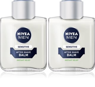 Nivea Men Sensitive bálsamo after shave apaziguador  (formato poupança)