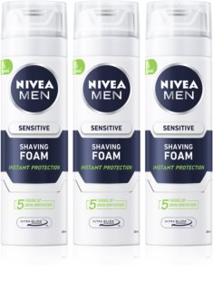 Nivea Men Sensitive espuma de barbear (formato poupança)