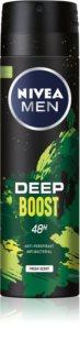 Nivea Deep Boost antitraspirante spray per uomo