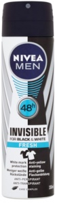 Nivea Men Invisible Black & White antiperspirant v spreji