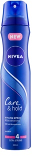 Nivea Care & Hold Extra Strong Hold Regenerating Hairspray