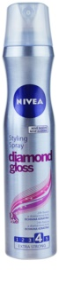 Nivea Diamond Gloss lak na vlasy