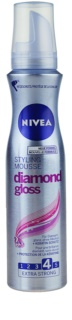 Nivea Diamond Gloss fissante in mousse