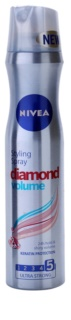 Nivea Diamond Volume Hairspray for Volume and Shine