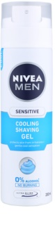 Nivea Men Sensitive gel per rasatura con effetto rinfrescante