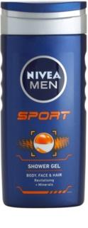 Nivea Men Sport gel za prhanje za obraz, telo in lase