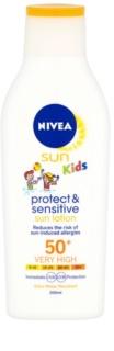 Nivea Sun Kids Sol-lotion för barn SPF 50+
