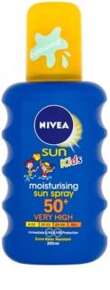 Nivea Sun Kids Färgad spray för solbränna för barn SPF 50+