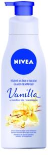 Nivea Vanilla & Almond Oil Body lotion mit Öl