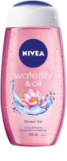 Nivea Waterlily & Oil бодрящий гель для душа