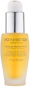 No Inhibition Smoothing óleo protetor de maracujá para todos os tipos de cabelos