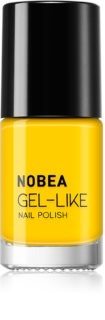 NOBEA Colourful lak na nehty s gelovým efektem