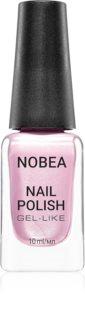 NOBEA Festive lak na nehty s gelovým efektem