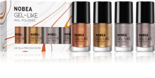 NOBEA Metal Set mit Nagellacken